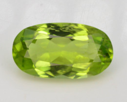 Apple Green 2.05 Ct Natural Peridot
