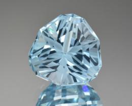 Natural Blue Topaz 14.57 Cts Perfect Precision Cut