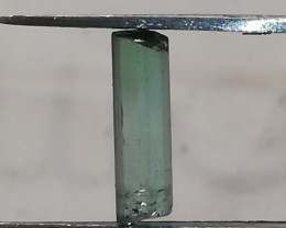 Tourmaline, 1.66ct, nice two coloured stone in a top colour!