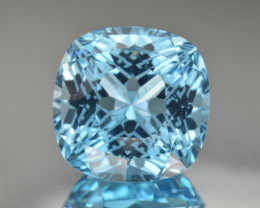 Natural Blue Topaz 26.00 Cts Perfect Precision Cut