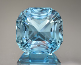 Natural Blue Topaz 29.14 Cts Perfect Precision Cut