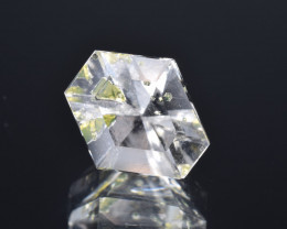 Rare Petroleum Quartz 4.17 Cts Faceted Gemstone with Moving Petroleum Bubbl