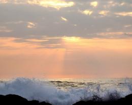 Sunset, Big Island, Hawaii.