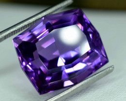14.95 carats Purple Fancy Amethyst Loose Gemstone