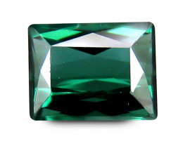 FOREST GREEN Brazilian TOURMALINE 0.591 Cts Antique Step Cut Octagon BGC485