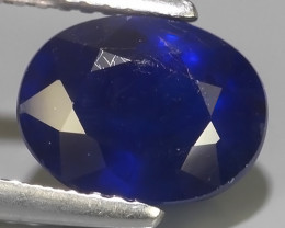 3.95 Cts Natural Intense Beautiful Blue Sapphire Oval Shape From MADAGASCAR