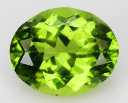 4.59 Ct Burma Peridot Excellent Color and Luster Gemstone PT4