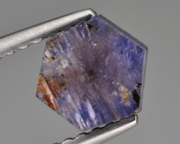 Natural Trapiche Sapphire 1.04 Cts from  Afghanistan