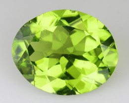 3.48 Ct Burma Peridot Excellent Color and Luster Gemstone PT14