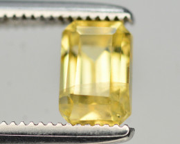 Gorgeous Color 1.05 Ct Natural Yellow Sapphire