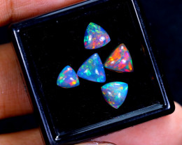 2.25cts Natural Ethiopian Somked Opal Lots / MA629