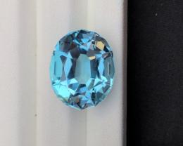 Stunning 23.75 Ct Natural Blue Topaz Gemstone
