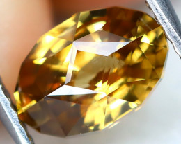 Yellow Zircon 1.95Ct VVS Precision Master Cut Natural Yellow Zircon AT0219