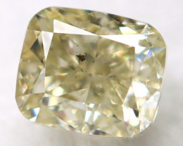 Light Green Diamond 0.25Ct Natural Untreated Fancy Diamond AT0224