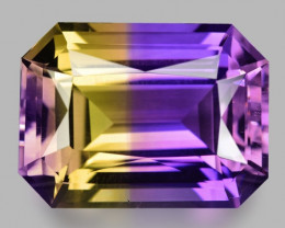 14.76 CT BOLIVIAN AMETRINE TOP CLASS LUSTER GEMSTONE AM1