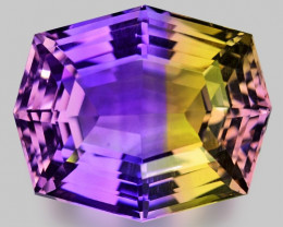 13.09 CT BOLIVIAN AMETRINE TOP CLASS LUSTER GEMSTONE AM4