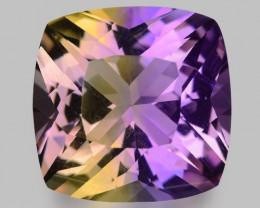 11.08 Cts Bolivian Ametrine Stunning Luster & Cut Gemstone  Am15