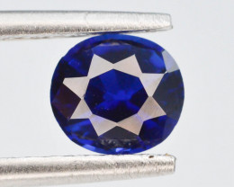 GSGC - CERT 1.05 ct Natural Untreated Blue Color Sapphire T