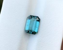 2.15 Ct Natural Blue Transparent Tourmaline Gemstone