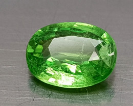 0.75CT RARE TSAVORITE GARNET  BEST QUALITY GEMSTONE IIGC007