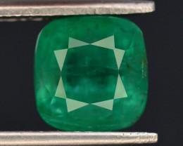 GSGC CERT 3.34 ct Natural Panjshir Emerald ~ Afghanistan