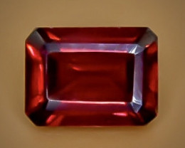 1.97 Crt Natural Rhodolite Garnet Faceted Gemstone.( AB 1)