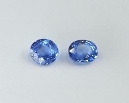 0.56ct unheated blue sapphire