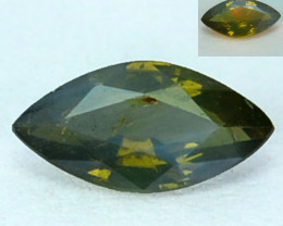 0.18 Cts Natural Color Change Alexandrite  Marquise  Gem India