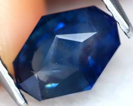 Blue Sapphire 1.76Ct VVS Master Cut Natural Blue Sapphire A1805