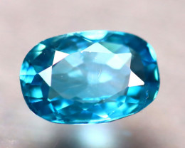 Blue Zircon 3.10Ct Natural Cambodian Blue Zircon D2104/A31