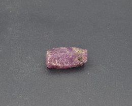 Natural Ruby Crystal with 23.79 Cts from Guinea
