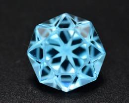 Stunning 9.35 Ct Natural Blue Topaz Gemstone