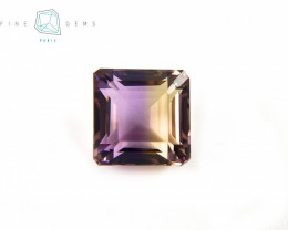6.91 carats Natural Ametrine Gemstone Octa cut