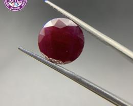 Ruby 8.11 ct Loose Gemstone Natural Gemstone Oval Cut