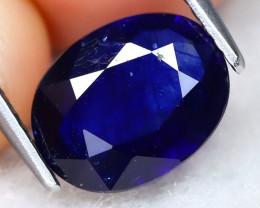 Blue Sapphire 2.56Ct Oval Cut Royal Blue Color Ceylon Blue Sapphire B1918