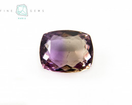 7.05 carats Natural Ametrine Gemstone Cushion cut