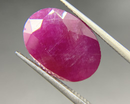 Ruby 14.76 ct Loose Gemstone Natural Gemstone Oval cut
