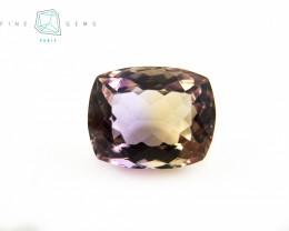 7.09 carats Natural Ametrine Gemstone Cushion cut