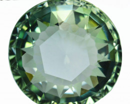 18.27Cts Natural Prasiolite(Green Amethyst ) Custom cut