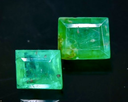 1.20 Crt Emerald  Faceted Gemstone (Rk-80)