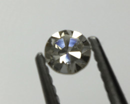 0.045 ct Fancy Light brownish Grey Si2 Single Cut Round Diamond
