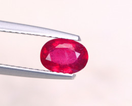 0.97Ct Blood Ruby Oval Cut Lot A1135