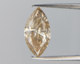 0.66 cts , Marquise Brilliant Diamond , Fancy shape Diamond