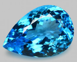 13.66 Carat Swiss Blue Natural Topaz Gemstone