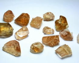 Amazing Natural color Gemmy quality Crystals type Topaz lot 250Cts-N#2