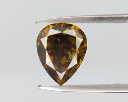 0.68 cts , Pear Brilliant Diamond ,  Fancy Diamond , Rare Shape Dia