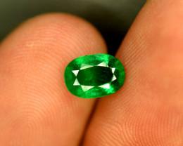 No oil No treated natural  emerald gemstone 1 carat