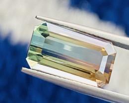 7.14 ct Bi Colors Tourmaline 100 % Natural Gemstone