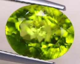 3.85Ct Natural Green Peridot Oval Cut Lot LZ7448