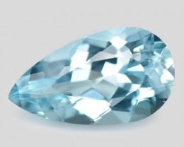 2..16 Cts Un Heated  Santa Maria Blue  Natural Aquamarine Loose Gemstone
